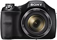 Sony DSC-H300/BC E32 Cyber-Shot Point & Shoot Digital Camera (Black) 35x Optical Zoom with Camera