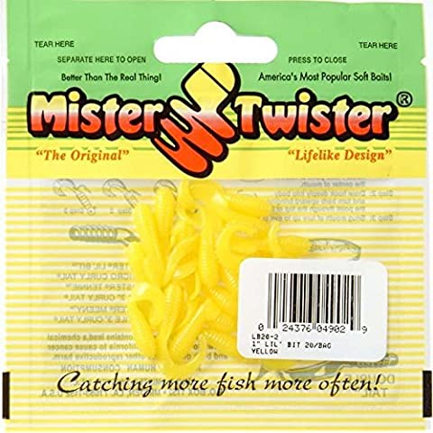 Mister Twister Yellow Lil Bit 20 Pack 1