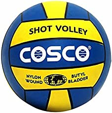 DealBindaas Sports Cosco Shot Volleyball (Multicolour, Size 4)