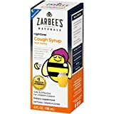 Zarbees Naturals Childrens Cough Syrup with Dark Honey Nighttime - Grape, 4 Fl