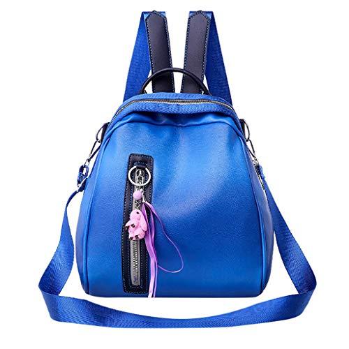 AIni Rucksack Damen Mode Rucksack Große Kapazität Computer Tasche Umhängetasche Farbe Handtasche Schulrucksack Business Wandern Reisen Camping Tagesrucksack 2019 Neuheit