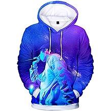 LBZD Moda 3D Sudaderas Impresas Lil Rapper Xan xanarchy Sudadera con Capucha Pullover gráfico Sudaderas con