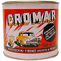 Pasta Abrasiva Cromar Blu Lattina Da Ml 500 Per Lucidatura Superfici Scure