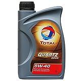 Total Quartz 9000 SAE 5W - 40 Huile de Moteur dans la boîte 1 l