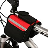 #4: CadetBlue Easy to Attach Men's Cycle Bag with Multiple Pockets for Phone, Bottle etc. [SF012]