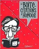 Telecharger Livres La boite a citations d humour 4 Volumes de Jean Loup Chiflet 21 octobre 2010 (PDF,EPUB,MOBI) gratuits en Francaise