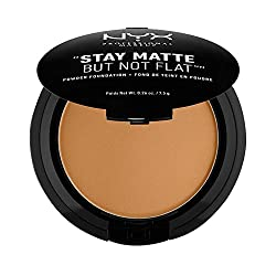 Nyx Professional Makeup Stay Matte Not Flat Powder Foundation, Deep Golden, 7.5g