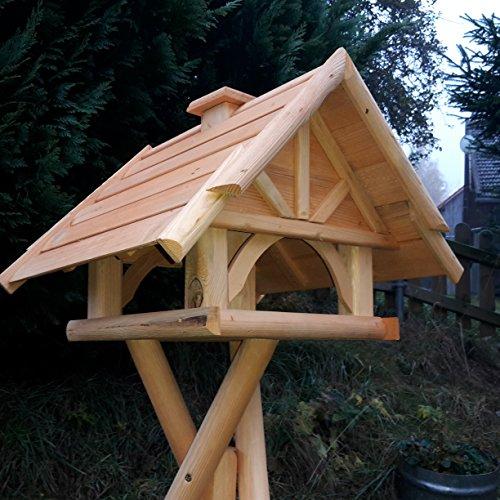 Vogelhaus Schreinerarbeit Futterhaus Vogelhäuschen --Wetterschutz-- K 75 Holz Vogelhäuser
