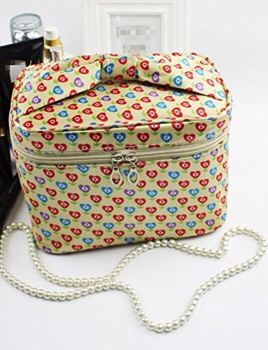 KAFEI Grand sac cosmétique Portable sac carré,un voyage de grande capacité