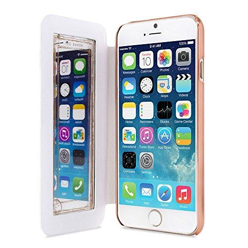 Ted Baker 2015 Étui iPhone 6S, marque officielle Ted pour iPhone 6/iPhone 6 Or Rose Housse étui portefeuille pour iPhone 6S Professional Coque femme pour iPhone 6 Coque pour femme Shannon