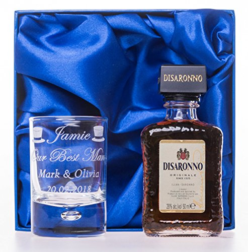 personalised-laser-engraved-new-wedding-design-2oz-shot-glass-5cl-disaronno-set-in-silk-gift-box