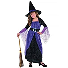 Idea Regalo - joker 997722/3-S - Costume Strega Nero/Viola