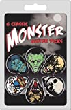 Hot Picks Monster Collection Lot de 6 médiators