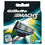 Auslaufmodell Gillette MACH3 Klingen 8 Stück