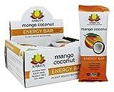Amrita - Pianta-Ha basato la noce di cocco del mango della scatola delle barre di energia di nutrizione - 12 Bar