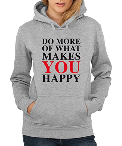 ::: DO MORE OF WHAT ... ::: Girls Kapuzenpullover Sports Grey