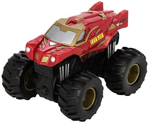 Mattel Hot Wheels CHV35 vehículo de Juguete - Vehículos de Juguete, Camión, Monster Jam, Iron Man, 3 año(s), China
