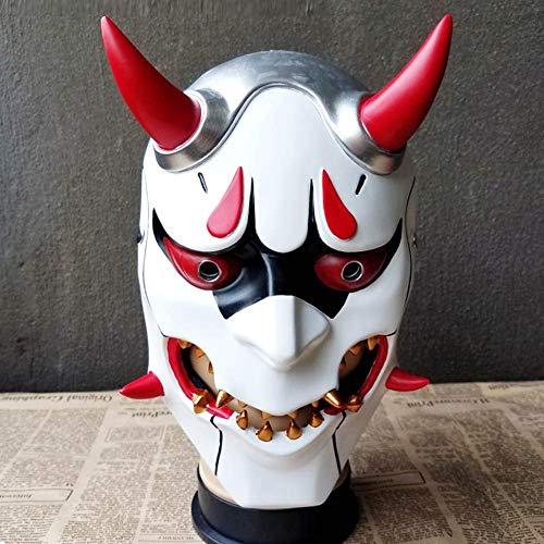 Zicue Humorvolle Maske Maskerade Prom Maske Bnmy Devil Mask Cospaly Halloween Scary Maske Teufel Maske Horror Maske