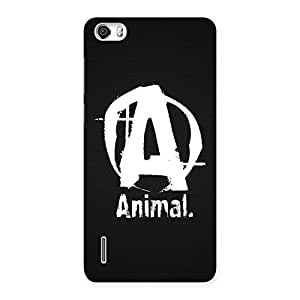 Wo Animal Back Case Cover for Honor 6