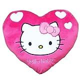 Hello Kitty Heart Cushion, Pink/White (3...