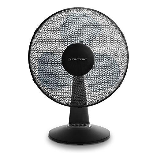 TROTEC Ventilador de Mesa TVE 17 | Automática oscilación de 80° con...
