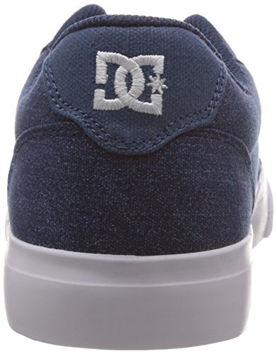 SE DC Unisex Erwachsene Sneakers Dark ANVIL TX White Denim aREwqzR