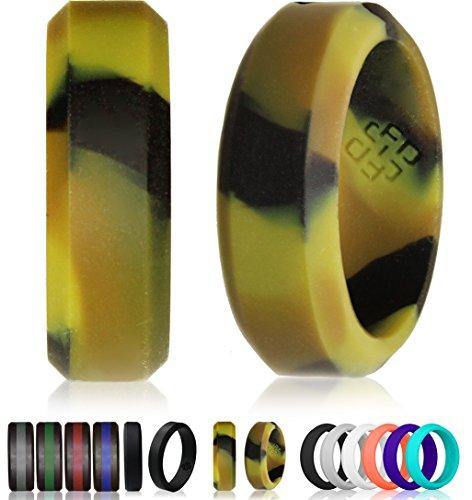 Nodo teoria Anello Nuziale In Silicone & # x2605; ingombrante Design by Premiata Design & (7.5 Camo)