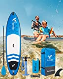 Paddle Gonflable Surf 10'2' Stand Up Paddle Board Gonflable 310x84x15 cm + Pagaie...