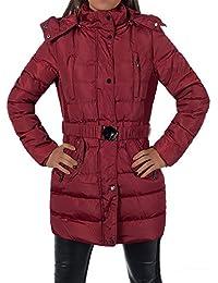 P190 Damen Jacke Mantel Übergangsjacke Fleecejacke Doppelreiher Tailliert