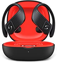 SENSO WINGS Wireless Earbuds, Bluetooth 5.0 TWS True Wireless Earphones, Best Sport Headphones for Workout Noi