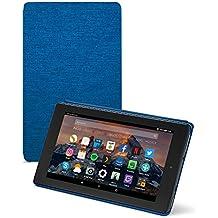 Amazon - Funda para Fire 7 (tablet de 7 pulgadas, 7ª generación, modelo de 2017), Añil