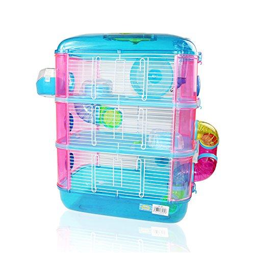 Cage pour hamster à 3étages