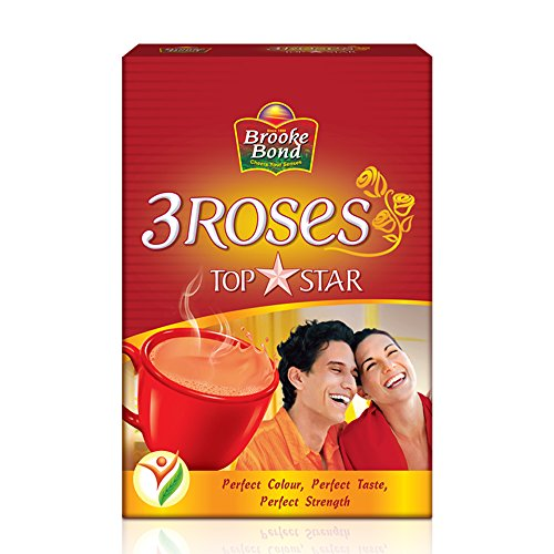 Brooke Bond, 3 Roses Dust Tea, Topstar, 250g