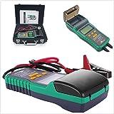 Batterietester 12V Akku Analysegerät + Drucker 30ah-200ah Automotive Akku Tester