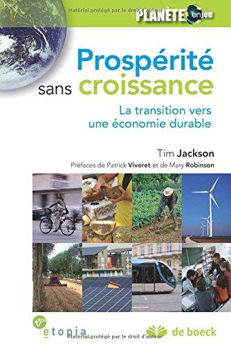 Prospérité sans croissance : La transition vers ...