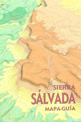Sierra salvada - mapa-guia