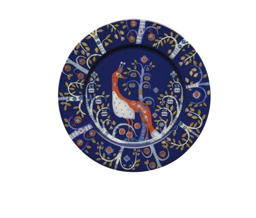Iittala Taika Salad Plate, Blue, 8-1/2-Inch by Iittala (Blue Iittala Plate)