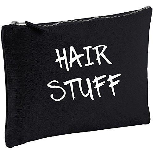 Des Cheveux Noir Toile Make Up sac cadeau Idée Cadeau Sac cosmétique trousse de toilette cadeau