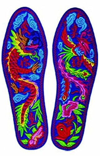 Déodorant respirant Semelle intérieure absorbante Semelle brodée