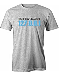 There is no Place like 127.0.0.1 - Herren T-Shirt