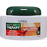 L'Oreal Natures Therapy Mega Curves Deep Conditioning Creme 8 oz