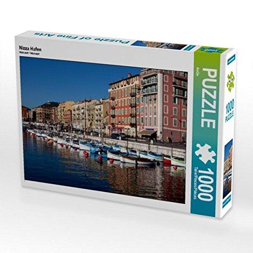 Preisvergleich Produktbild CALVENDO Puzzle Nizza Hafen 1000 Teile Lege-Größe 64 x 48 cm Foto-Puzzle Bild von Ange