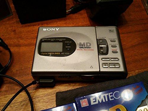 Sony MZ-R35 tragbarer MiniDisc-Player und Rekorder