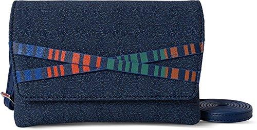 Baggit Lmp Oyster Dotty Blue Women's Mobile Pouch (8903414578511)