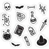 Vinyl Sticker for Cars, Trucks, Water Bottle, Fridge, Laptops Witchy Essence Black Stickers (3 Pcs/Pack)