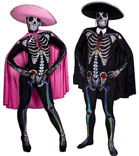 Tag Der Toten Kostüm Für Paare - TAG DER TOTEN , PAARE SUGAR
