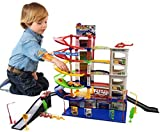 6 Level Modern Car Park Auto Parking Garage Petrol Station Kids Play Set Toy