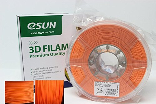 esun Imprimante 3D Filament Pla 1,75 mm 1 kg Orange