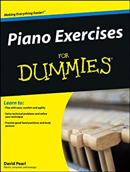 Piano Exercises For Dummies par [Pearl, David]