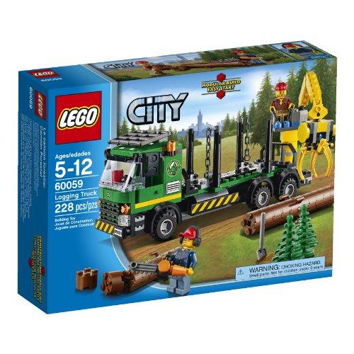 LEGO City Camión Transporte Troncos - Juegos construcción